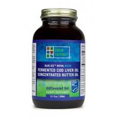 Blue Ice Royal Blend fermentovaný olej z tresčích jater + máslový olej - natural