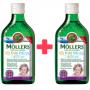 Mollers Omega 3 Můj první rybí olej 250 ml + zdarma Mollers Můj první rybí olej 250 ml