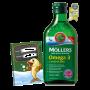 Mollers Omega 3 Natur olej 250ml + sešit