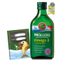 Mollers Omega 3 Natur olej 250ml + zdarma Mollers sešit